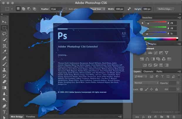 Phần mềm Adobe photoshop