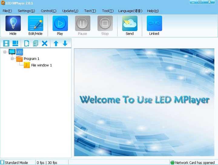 Phần mềm led ma trận Led Mplayer