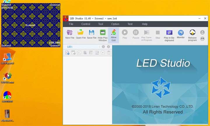 Phần mềm led ma trận Studio