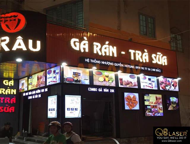 biển quảng cáo món ăn đẹp nhất