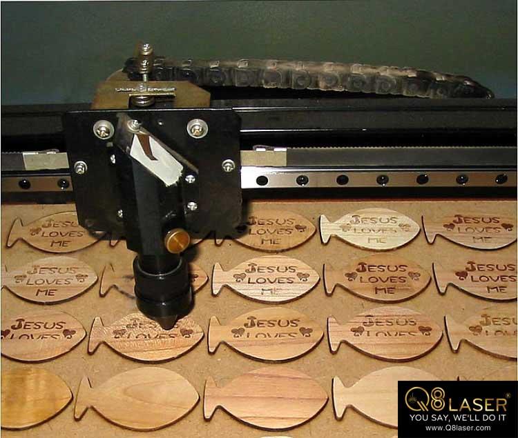 cắt gỗ laser