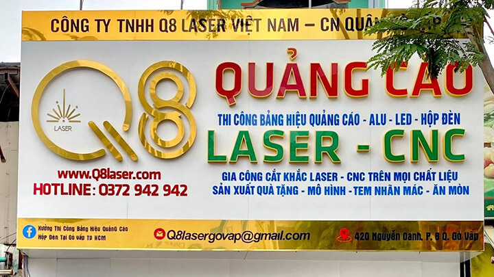 cắt cnc laser giá rẻ hcm