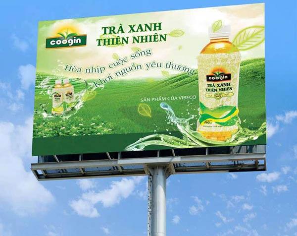Mẫu biển quảng cáo in bạt