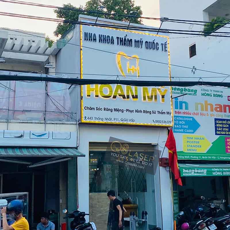 Xưởng gia công biển quảng cáo tại Gò Vấp