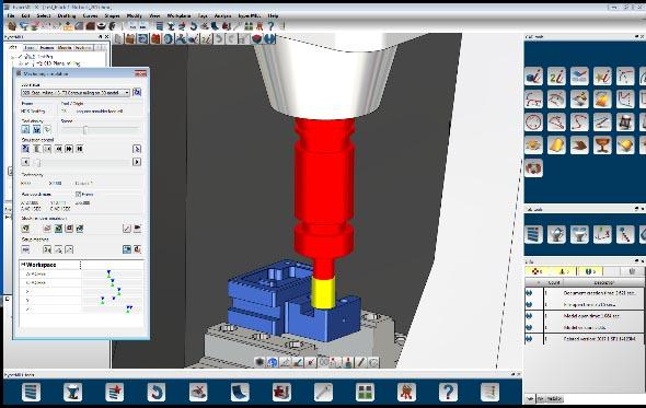 Phần mềm vẽ cnc hyperMILL
